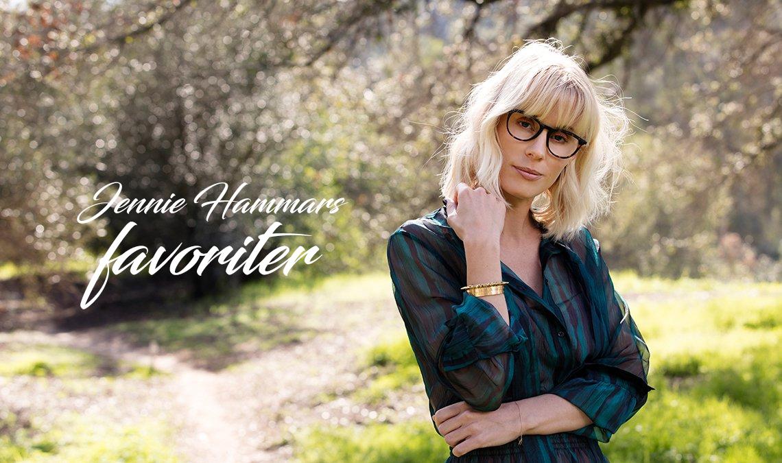 Jennie Hammars glasögonfavoriter